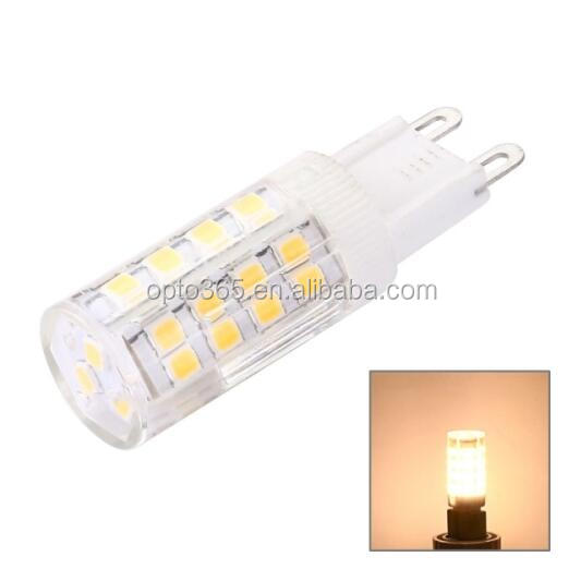 Energy saving 500lm 5w small size cri90 high lumen 4000k dimmable bulb g9 led