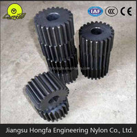 small plastic nylon gear types of mechanical gears