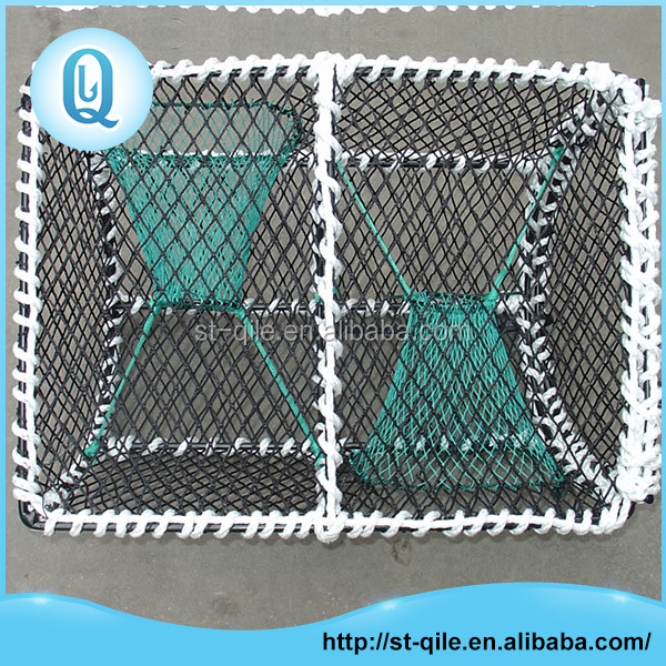 Best sale durable stainless steel frame commercial crab trap