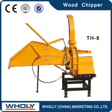 Two hydraulic feeding rollers, CE approved commercial wood chippers
