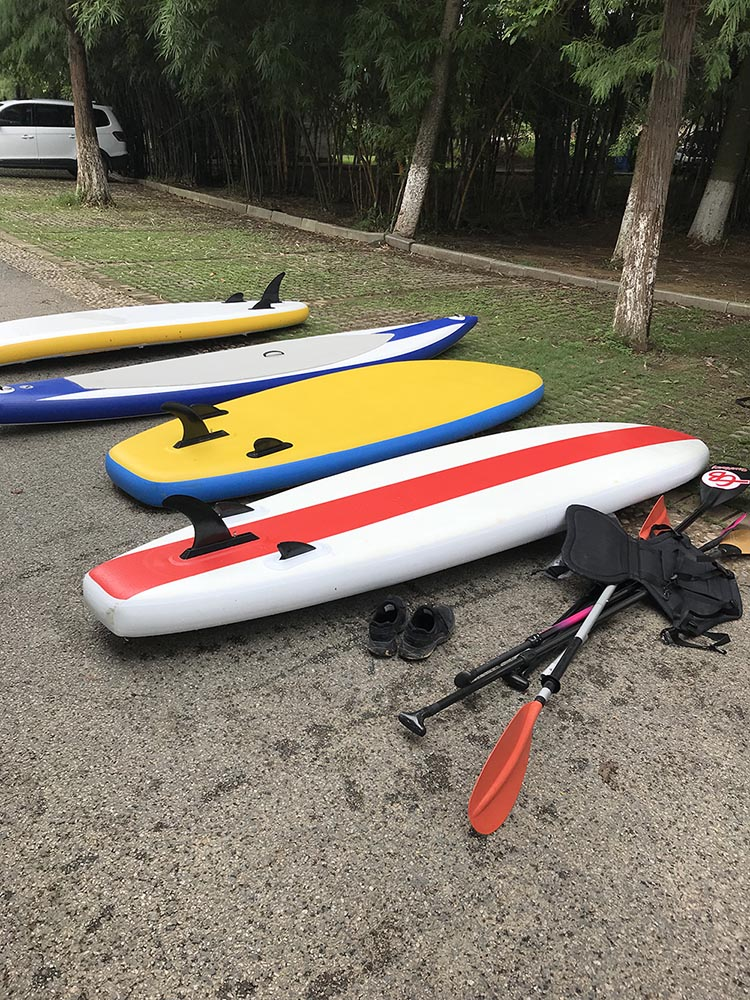 sup surf inflatable board watersports2019