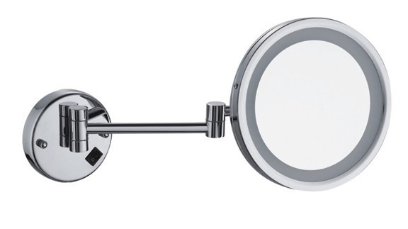 wall mount led cosmetic mirror 30 x magnifying mirror with light