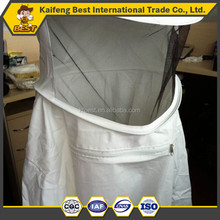 High quality 100% cotton white full bee suit