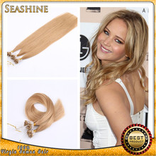 most demanded products in india afro brazilian micro ring/loop human remy hair extensions