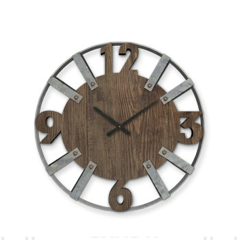 Wholesale new product fashion modern design wooden wall clock