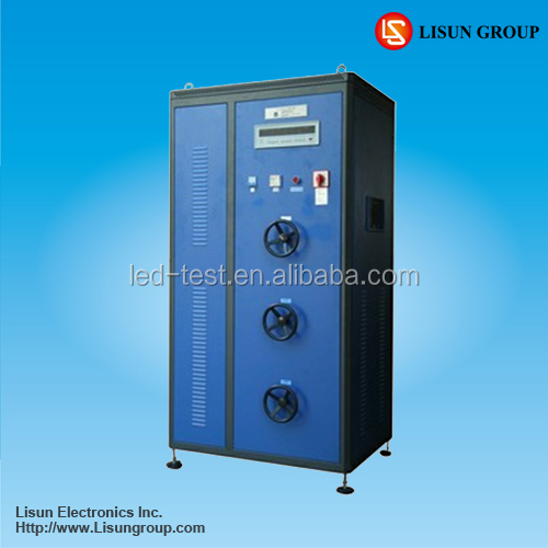 Lisun DFX-20 Load cabinet When the test time achieve the setting value the device will stop automatically
