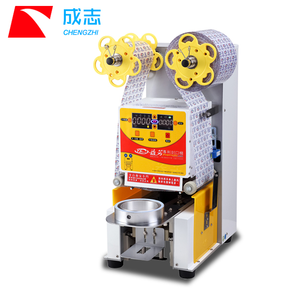Automatic Fruit Juice Cup Sealing Machine/ Cup Sealer