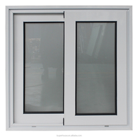 AS2047 bathroom windows with glass/sliding type obscure glass window with high quality