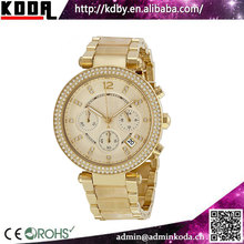 China watch factory hot ladies gold luxury women watch