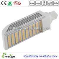 7W LED horizontal inserted light/G23 ,G24 led PL Lamp