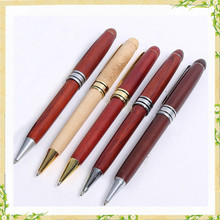 2016 New china products carved cheap wood pen for sale