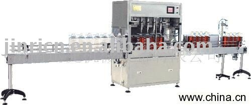 filling capping Oil filling production line