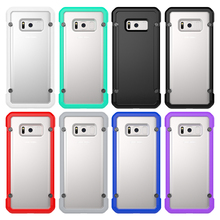 2017 New Design TPU+PC Shockproof Phone Case for Samsung S8, For Galaxy S8 Case