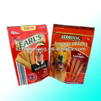 FDA Eco Friendly and Customized Label Reusable Plastic Bag For Pet Food bag