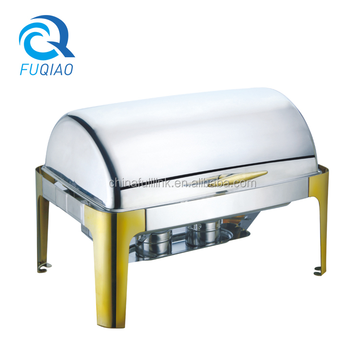 Stainless Steel induction buffet chafing dish food warmer