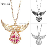 10pcs/lot Angel Wing Accessories Cage Angel bola Necklace Hollow Jewelry Maternity Necklace (VA-102) Free Shipping