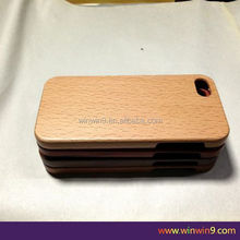 100% wood grain case for iphone 5c,whole wooden case