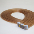20inch #27 Strawberry Blonde Double Drawn Chinese Virgin Remy Hair Tape Ins