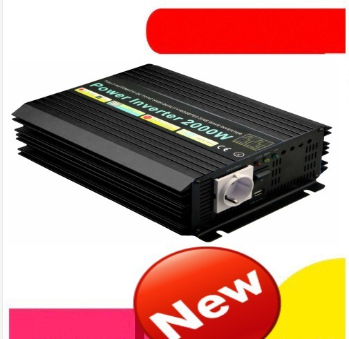 2000w Modified sine inverter 2000W Modified sine wave inverter 24V to 120V 60HZ hybrid solar inverter