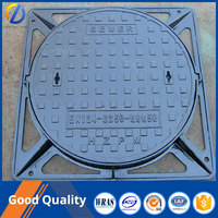 foundry direct sale anti-theft ductile iron telecom manhole cover