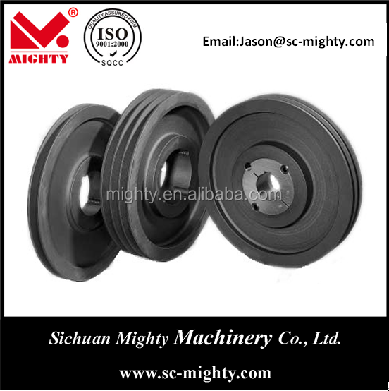 types of pulley/ cast iron pulley/ machinery v belt pulley all types casting belt pulley as per your drawings and sample