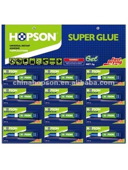 12pcs/card Aluminum Tube Super Glue Gel