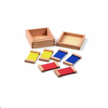 China Cheap magic toy Montessori Sensorial wooden toys Color Box With The Best Quality
