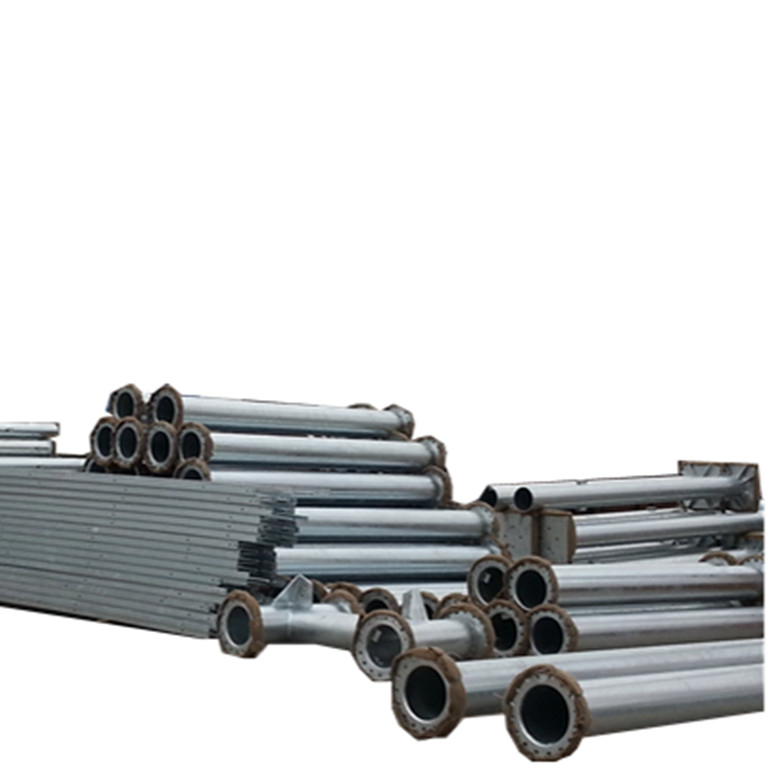 galvanized distribution steel <strong>electricity</strong> pole