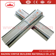 galvanized steel c channel/metal stud sizes for gypsum drywall/OMEGA profile