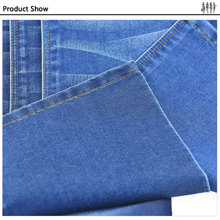 Breathable denim jean polyester rayon 4way spandex fabric