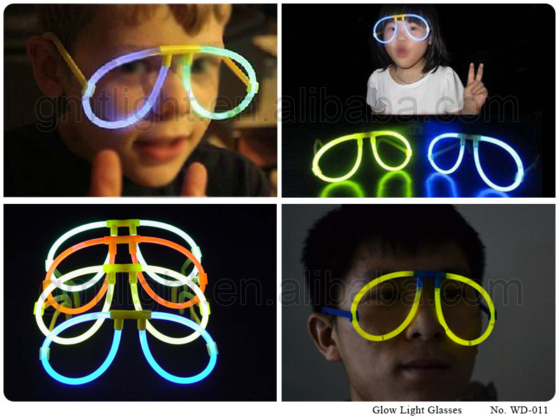 5x200 Glowing in the Dark Glow Glasses
