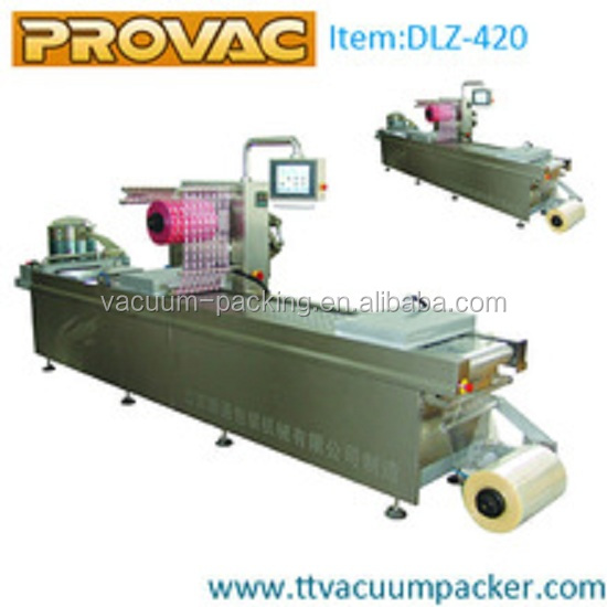 Automatic vacuum skin packaging machine