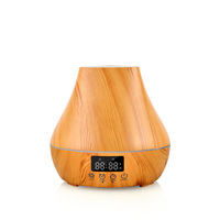 2019 Newest Smart Aroma Air Humidifier With LED Light Alarm Clock Aromatherapy Diffuser 24V 10W