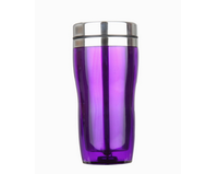 2015 high quality thermos insulated travel mug double wall glass tea tumbler
