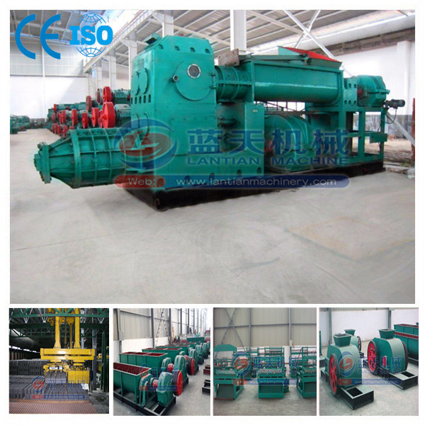 Hot sale factory sale automatic clay brick manufacturing plant