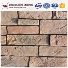 light weight artificial stone fake rock siding