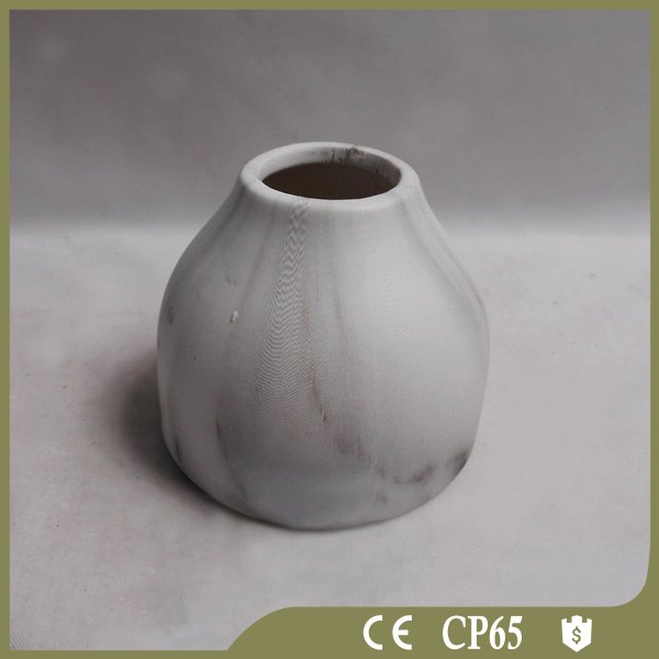 Custom porcelain single antique flower vase for home decoration