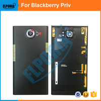 For BlackBerry Priv / Venice Back Battery Cover Door Housing Case With Rear Camera Lens Original Replacement Parts