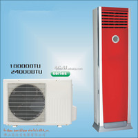 Made in china floor standing split type 48000btu floor standing air conditioner