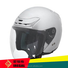 weight light half face helmet with DOT approval