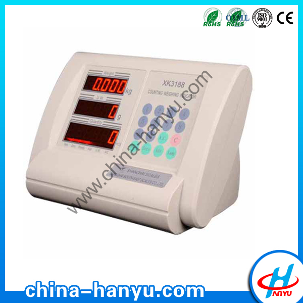 XK3188 digital counting weighing indicator