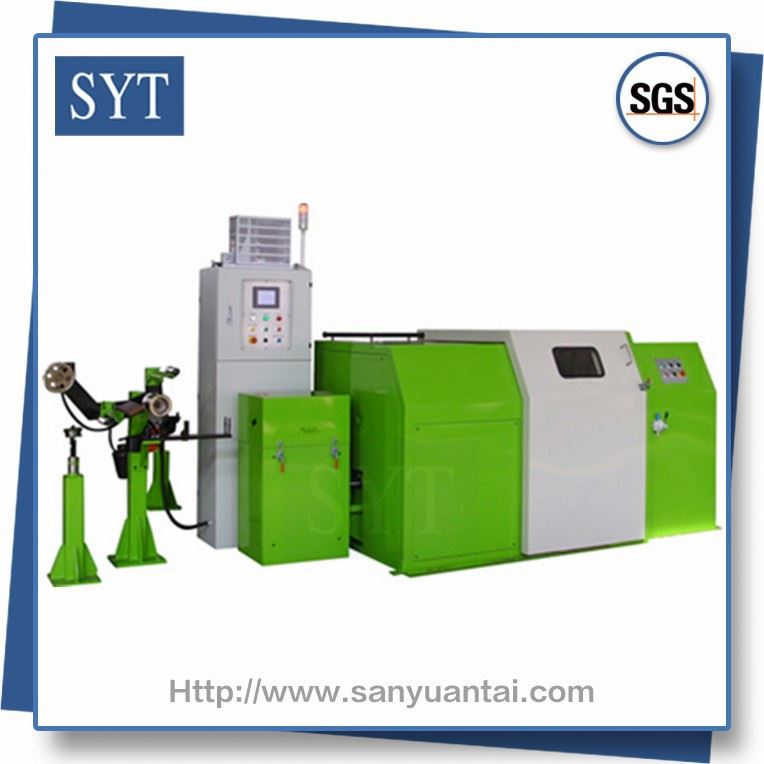 SYT-RHC6/9/15 Cable making multi steel double twist standing machine