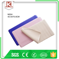 rubber cushion bath mat with suction cups