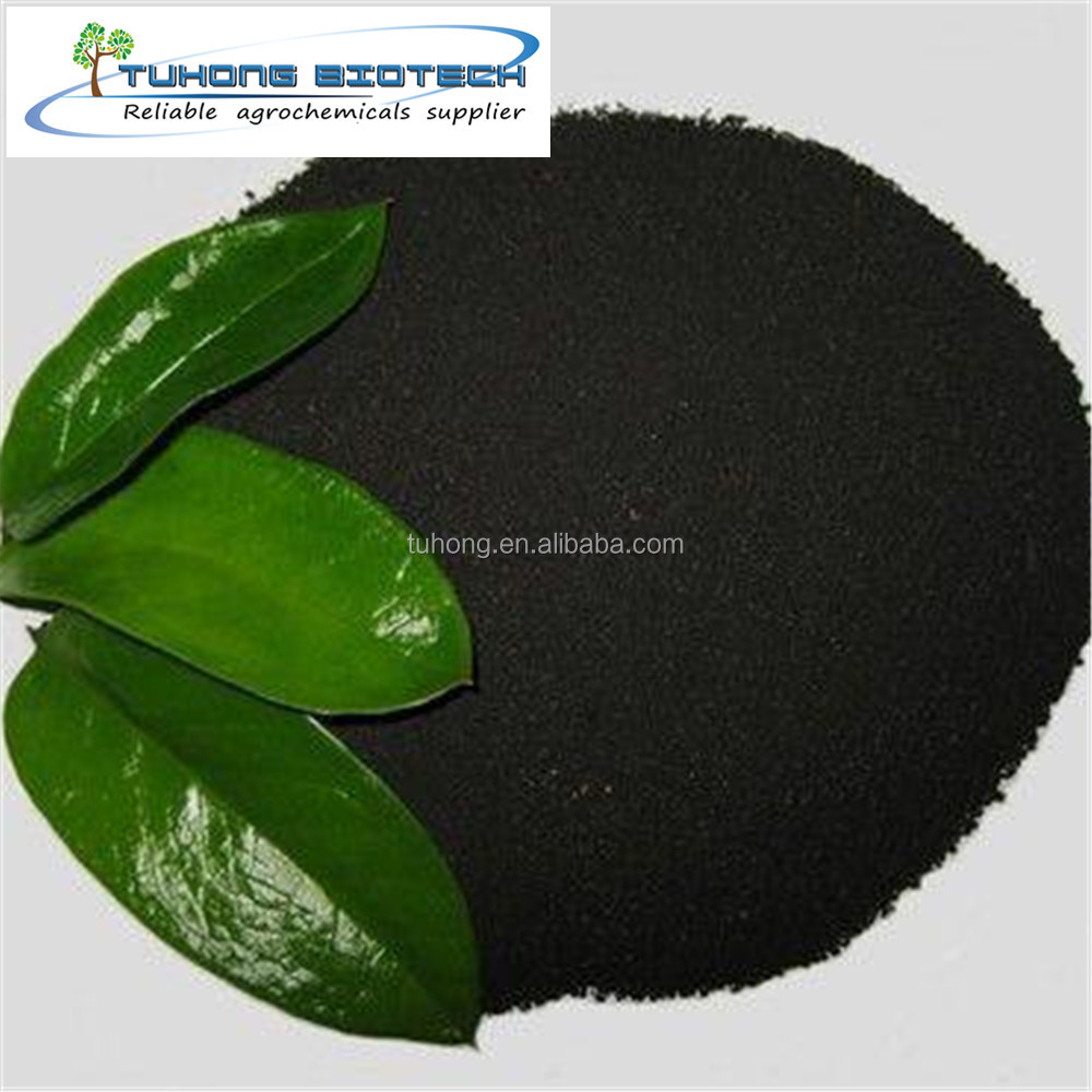 Factory sales of humic acid wholesale, 75% organic content of high content humic acid powder, fertilizer plant with humic acid