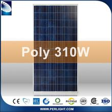 White/black Chinese 310w commercial grade solar panels