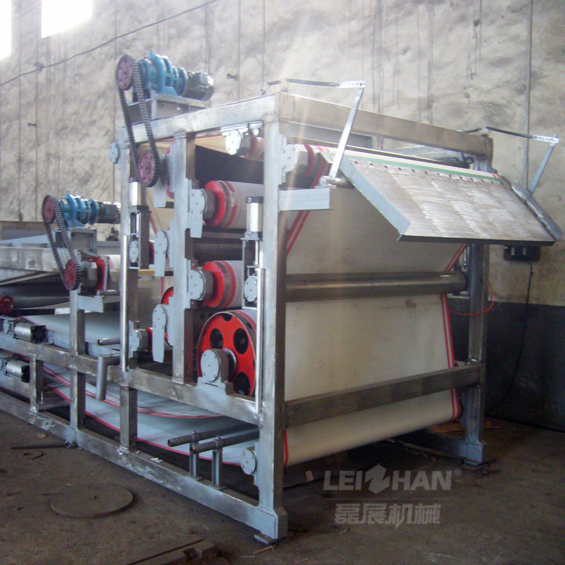 Paper making sludge treatment machine , sludge dryer