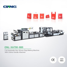 Professional make Hot sale China two layer bag making machine