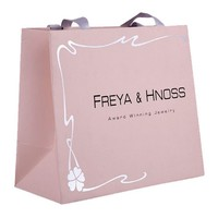 custom made promotional multifunction shopping craft paper bag with logo