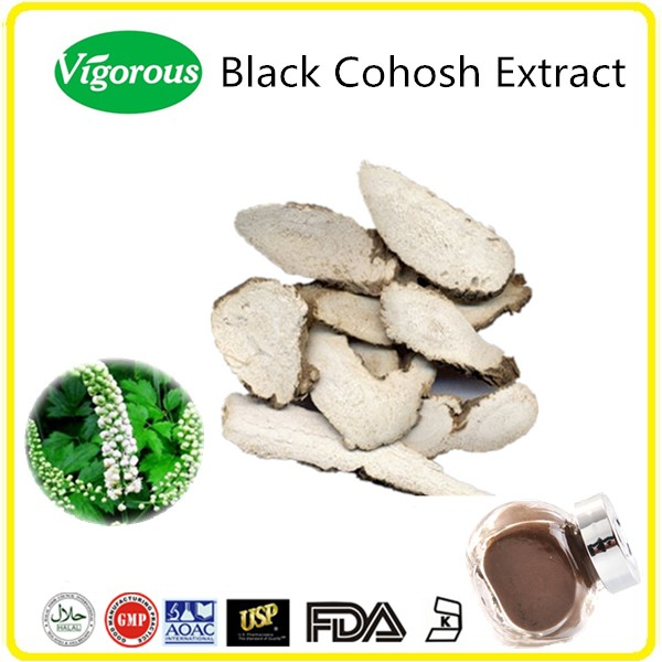 High Quality Dried Herbal Black Cohosh Root Extract Powder