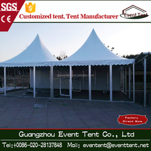 Gazebo 3x3 tent with wedding hall decorations glass gazebo, pagoda tent for sale